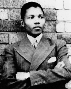 NELSON MANDELA - YOUNG