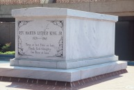MARTIN LUTHER KING'S MEMORIAL TOMB