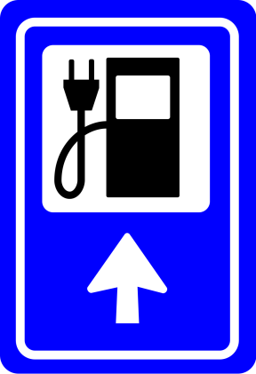 ELECTRIC CAR CHARGING POINT