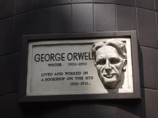 GEORGE ORWELL - PLAQUE