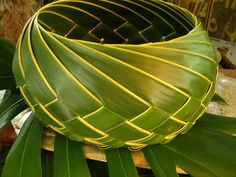 PALM-LEAF BASKET