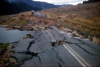 ROAD - EARTHQUAKE
