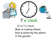 7 o'clock